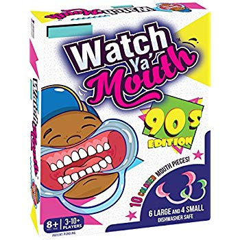 Watch Ya' Mouth Original Mouthpiece Game - The Hilarious Family Games