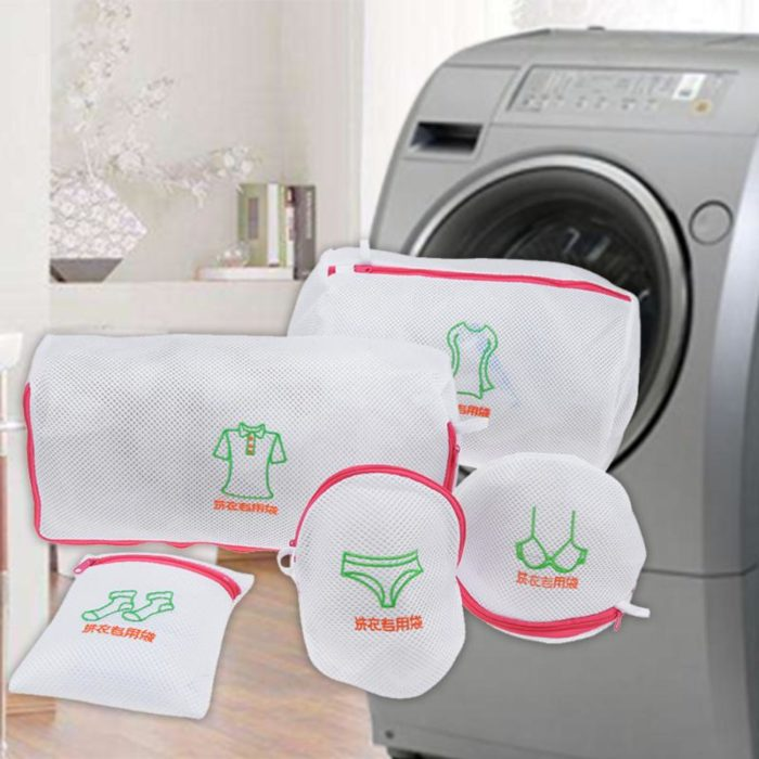 Laundry Bag Set 5-in-1 For Your Convenience