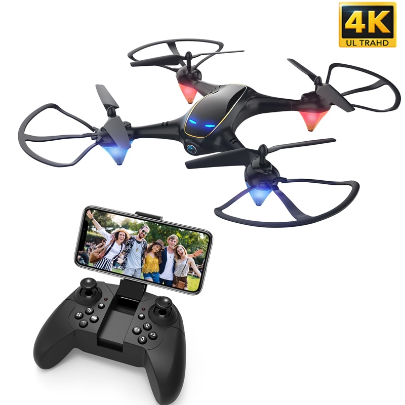 WiFi FPV with 1080P/4K HD Camera Drone