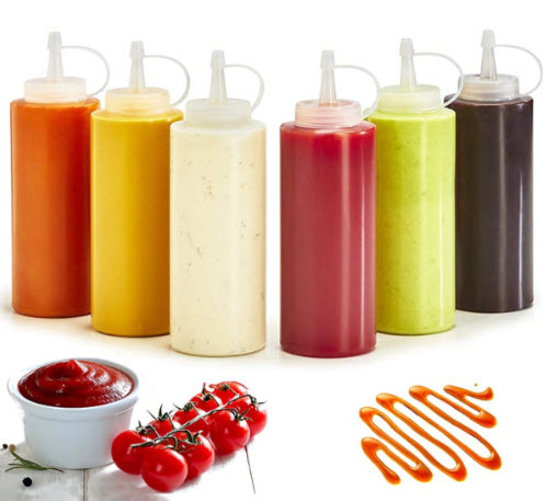 Family Foundation: Condiment Bottles With Twist