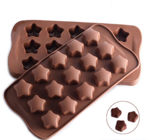 Star-shaped Silicone Molds