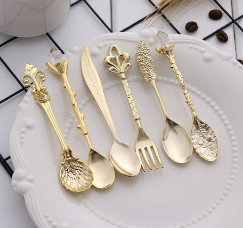 Family Foundation: Royal Metal Spoons And Forks