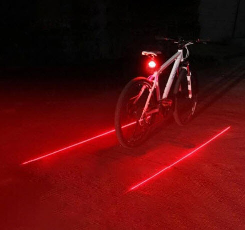 Family Foundation: Laser Guide Rear Bicycle Light